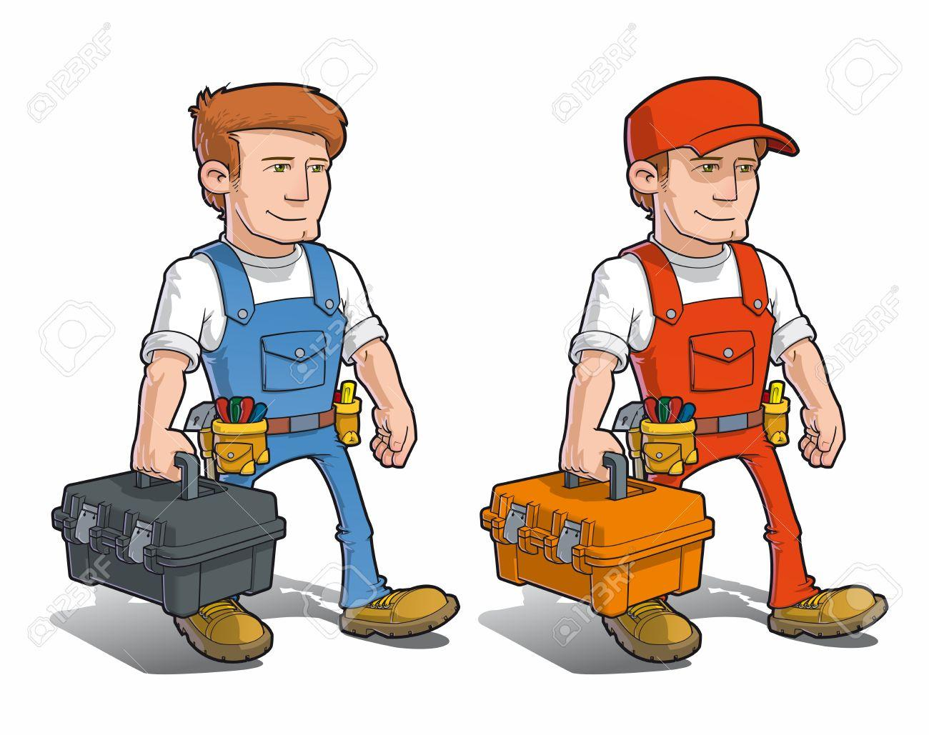 Handyman - Carying Toolkit